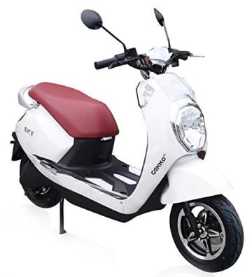 SXT Gekko V2 Elektroroller mit 2000W bürstenlosem Nabenmotor, 45 kmh, 2 Sitzer - bis zu 70 km Reichweite -