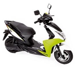 SXT Viper Elektroroller mit 2000W bürstenloser Nabenmotor, 45 kmh, 2 Sitzer - bis zu 60 km Reichweite -