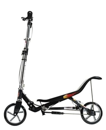 East Side Records 86005 - Space Scooter X580, Outdoor und Sport, matt schwarz -