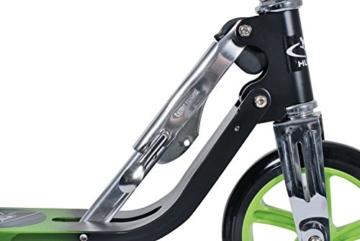 HUDORA 14695/01 - Big Wheel 205, schwarz/grün -