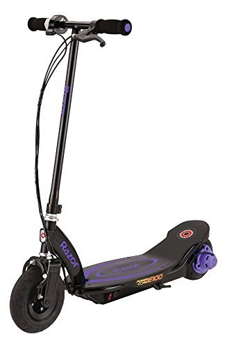 Razor Kinder Power Core E100 Elektroroller, Violet, One Size - 1