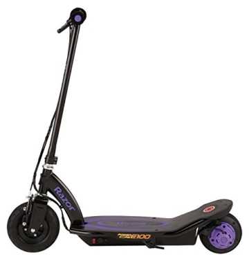 Razor Kinder Power Core E100 Elektroroller, Violet, One Size - 8