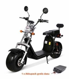 Citycoco Elektro Scooter 1500 Watt 60 Volt 20AH inkl. COC + Gratis Zusatz AKKU - 1