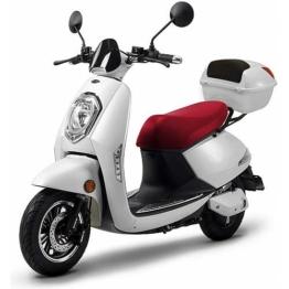 ELEKTROROLLER FUTURA E-Motorroller »Elettrico Lithium«, 1200 W, 45 km/h, weiß
