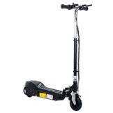 HOMCOM Elektroroller Kinder E-Scooter Kinderroller Roller Tretroller klappbar höhenverstellbar 120W Metall + Kunststoff Schwarz 78 x 40 x (80-96) cm - 1