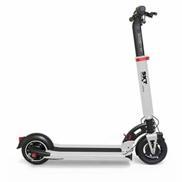 SXT Buddy V2 - kompakter Escooter mit nur 13,7 kg Gesamtgewicht, 650 W max. Farbe: schwarz - 2