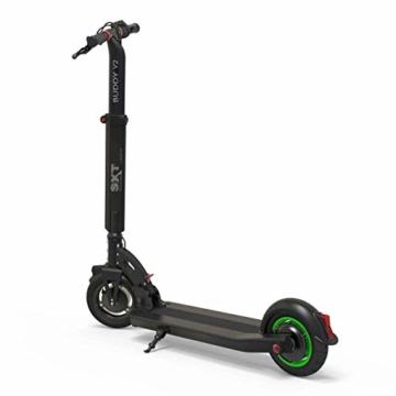SXT Buddy V2 - kompakter Escooter mit nur 13,7 kg Gesamtgewicht, 650 W max. Farbe: schwarz - 3