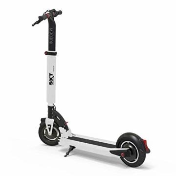 SXT Buddy V2 - kompakter Escooter mit nur 13,7 kg Gesamtgewicht, 650 W max. Farbe: schwarz - 4