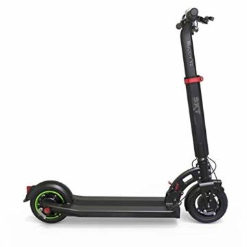 SXT Buddy V2 - kompakter Escooter mit nur 13,7 kg Gesamtgewicht, 650 W max. Farbe: schwarz - 1