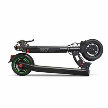 SXT Buddy V2 - kompakter Escooter mit nur 13,7 kg Gesamtgewicht, 650 W max. Farbe: schwarz - 5