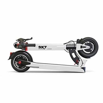SXT Buddy V2 - kompakter Escooter mit nur 13,7 kg Gesamtgewicht, 650 W max. Farbe: schwarz - 6