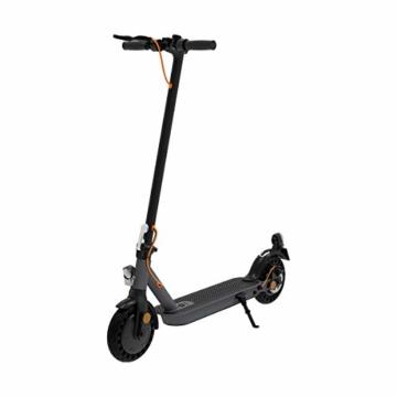 TREKSTOR e.Gear EG3178 E-Scooter mit Straßenzulassung (eKFV), 350 W Motor, 270 Wh Batterie, 25 km Reichweite, 8,5 Zoll Reifen, Stoßgedämpft, Scheibenbremse, nur 14,5kg, 120kg Tragkraft, Klappbar - 3
