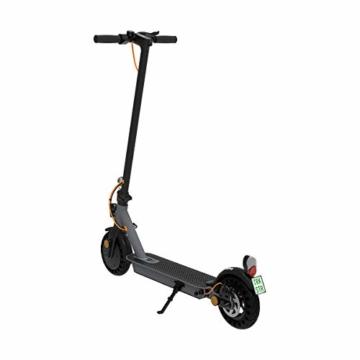 TREKSTOR e.Gear EG3178 E-Scooter mit Straßenzulassung (eKFV), 350 W Motor, 270 Wh Batterie, 25 km Reichweite, 8,5 Zoll Reifen, Stoßgedämpft, Scheibenbremse, nur 14,5kg, 120kg Tragkraft, Klappbar - 4